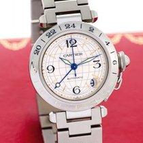 Cartier Pasha C 35mm 2 time zones GMT