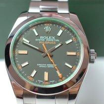Rolex Milgauss Green Saphire