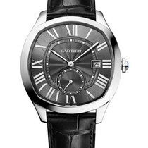 Cartier WSNM0009 Drive de Cartier 41mm in Steel - On Black...