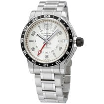 Longines Admiral Silver Dial Stainless Steel Men's Watch...
