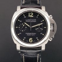 Panerai Luminor Chronograph Automatic PAM 310 Stainless Steel...