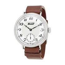 Tissot Heritage 1936 Silver Dial Brown Leather Men's Watch
