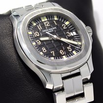 Patek Philippe Aquanaut 5066/1a Steel Black Dial Automatic...