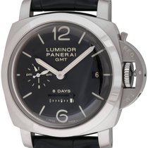 Panerai : Luminor 1950 8 days GMT :  PAM 233 :  Stainless...