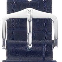 Hirsch Duke Lederarmband blau L 01028080-2-22 22mm