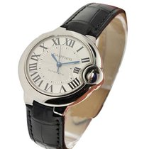 Cartier W6920085 Ballon Bleu de Cartier in Steel - on Black...