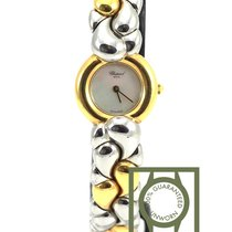 Chopard Casmir 18K yellow gold steel mother of pearl 43/8417 NEW