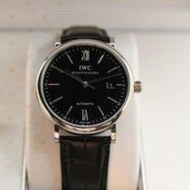 萬國 (IWC) IW356502 Portofino Automatic Black Dial