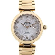 Omega Ladymatic Co-Axial 34 Gold