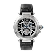 Cartier Pasha Manual Mens Watch Ref W3030021