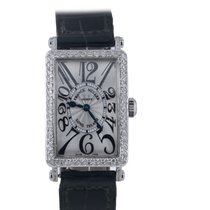 Franck Muller Long Island lady's 18K white gold and...