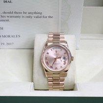 Rolex President Day Date 118205 Roman Dial 18K Rose Gold  Mint