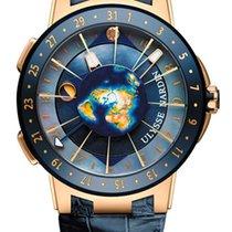 Ulysse Nardin Executive Moonstruck 18K Rose Gold & Ceramic...
