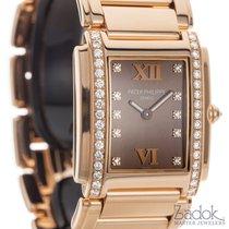 Patek Philippe Ladies  Twenty-4 24 Rose Gold Quartz Watch...