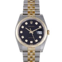 Rolex Oyster Perpetual Datejust 36mm Fluted Bezel 116233-0208