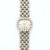 Rolex White Gold Diamond Bezel Bracelet Watch