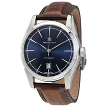 Hamilton Spirit of Liberty Blue Dial Automatic Men's Watch...