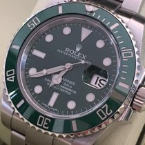 Rolex Submariner Date - HULK - Green Ceramic Bezel - FULL SET...