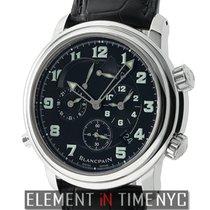 Blancpain Leman  Reveil GMT Alarm Stainless Steel 40mm