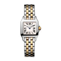 Cartier Santos Dumont Quartz Ladies Watch Ref W25066Z6