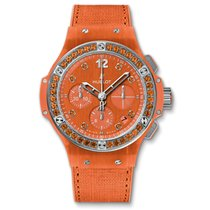Hublot IG BANG - TUTTI FRUTTI LINEN ORANGE CHRONOGRAPH
