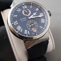 Ulysse Nardin Marine Chronometer Blue dial power reserve date