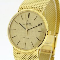 Omega de Ville Vintage solid 18K Gold Watch Cal. 712 Papers 1966