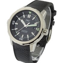 IWC IW329001 Aquatimer Automatic 42mm in Steel - on Black...