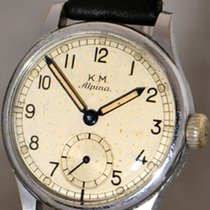 Alpina K.M. Kriegsmarine Military wristwatch of German Navy