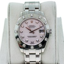 Rolex Masterpiece 81319  Gold Mother of Pearl and Diamond Dial