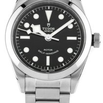 Tudor Heritage Black Bay 36 Black Dial Aged Leather Automatic...