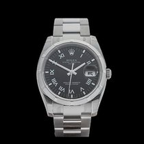 Rolex Oyster Perpetual Date Stainless Steel Unisex 115210 - W3540