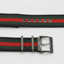 Gucci 23mm Genuine Replacement Nylon Strap Men's G-Timeles...