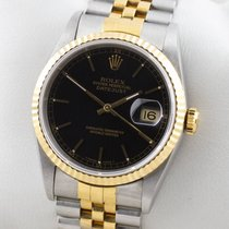 Rolex Datejust Edelstahl / 18K Gold Automatic NOS New Old Stock