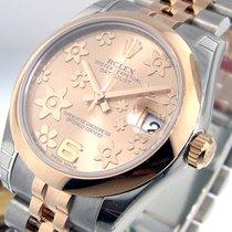 Rolex Datejust 178241 Mid Size Steel Rose Gold Jubilee Pink...