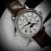 Patek Philippe Retrograde Perpetual Calendar Moon Phase in...