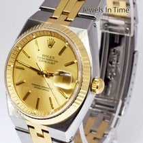 Rolex Rare Datejust Automatic 14k Yellow Gold & Steel 36mm...