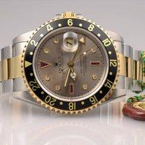 Rolex GMT-Master II Ruby / Sultan 16713 unpoliert Box &...