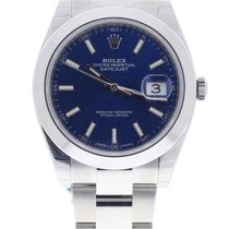 Rolex Oyster Perpetual Datejust 41mm blue Index Dial