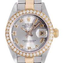 Rolex Datejust Ladies Watch Steel & Gold Automatic 69173