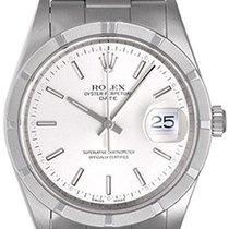 ロレックス (Rolex) Date Men's Stainless Steel Watch Engine...
