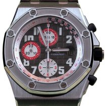 Audemars Piguet Royal Oak Driver Gray Red Stainless Steel...