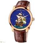 Ulysse Nardin Classico Enamel Red Gold Caesar Men`s Watch