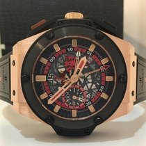 Hublot King Power Red Devil Ouro Rosé 48mm Edição Limitada 250...