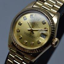 Ρολεξ (Rolex) Datejust 18K Gold President Gold Diamond Dial