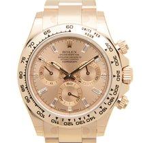 Rolex Cosmograph Daytona 18k Rose Gold Pink Automatic 116505PKDI