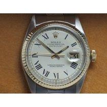 Rolex Vintage Datejust 1601 D'Agosto White Dial Roman