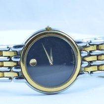Movado Museum Damen Watch Uhr Rar Stahl Top Quartz 25mm...