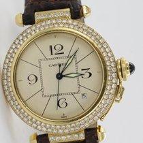Cartier Pasha Gelbgold 1989
