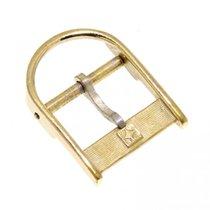 Zenith Fibbia Vintage Ardiglione Placcato Oro 14 Mm Con...